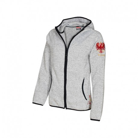 Strick-Fleece Jacke - Tiroler Adler (Ladies)